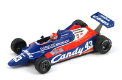 """Tyrrell 010 """"GP. Canadá"""" nº 43 Mike Thackwell (1980) Spark S1885 1:43"""