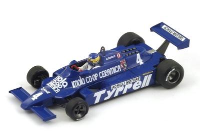 "Tyrrell 010 ""GP. San Marino"" nº 4 Michele Alboreto (1981) Spark S4320 1:43"