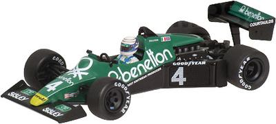 "Tyrrell 012 ""GP Holanda"" nº 4 Dany Sullivan (1983) Minichamps 1/43"