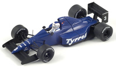 "Tyrrell 018 ""GP. San Marino"" nº 3 Jonathan Palmer (1989) Spark 1/43"