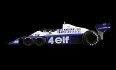 "Tyrrell P34 ""2º GP Canadá"" nº 4  Patrick Depailler (1977) True Scale 1/43"