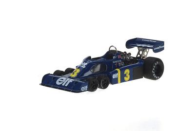 """Tyrrell P34 """"GP. Alemania"""" nº 3 Jody Scheckter (1976) Reve 1/43"""