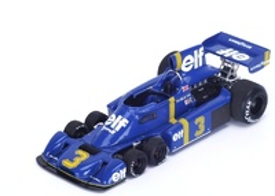 "Tyrrell P34 ""GP. Gran Bretaña"" nº 3 Jody Scheckter (1976) True Scale Model 1:43"