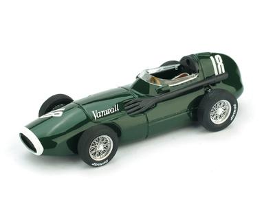 "Vanwall VW1 ""1º GP. Gran Bretaña"" nº 18 Stirling Moss (1957) Brumm 1/43"