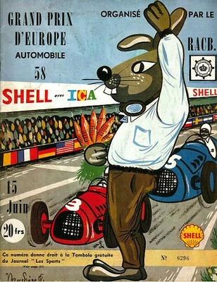 "Vanwall VW5 ""GP Bélgica"" 1958 Tony Brooks (1958) Spark 1:43"
