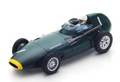 "Vanwall VW57 ""GP. Holanda"" nº 1 Stirling Moss (1958) Spark 1:43"
