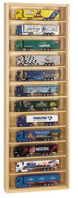 Vitrina madera con estantes extraibles Schuco