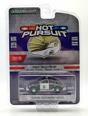 Volkswagen Beetle - Policía de Sioux Falls (Dakota del Sur) Greenlight 1/64