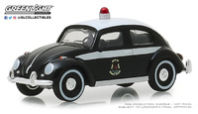 Volkswagen Beetle Policia de Saint John, New Brunswick, Canada () Greenlight 1/64