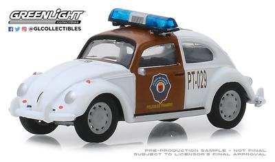Volkswagen Beetle Policia de tráfico de Chiapas (1970) Greenlight 1/64