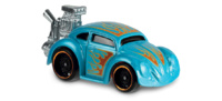 Volkswagen Beetle -Tooned- (2018) Hot Wheels 1/64