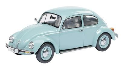 """Volkswagen Escarabajo 1200 """"Ultima edición"""" (2003) Schuco 1/43"""