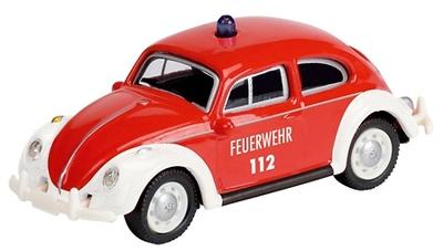 """Volkswagen Escarabajo """"Bomberos"""" (1960) Schuco 1/87"""