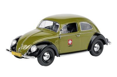 """Volkswagen Escarabajo Correos """"PTT"""" Schuco 1/43"""