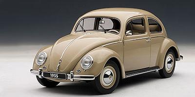 Volkswagen Escarabajo Limousine (1955) Autoart 1/18