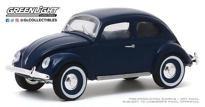 Volkswagen Escarabajo Tipo 1 Split (1949) Greenlight 1/64