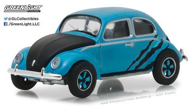 Volkswagen Escarabajo luna partida (1950) Greenlight 1/64