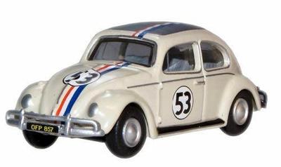 "Volkswagen Escarabajo nº 53 ""Herbie"" (1973) Oxford 1/76"