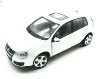 Volkswagen Golf GTi serie 5 (2003) Cararama 1/24