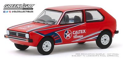 "Volkswagen Golf Mk1 ""Caltex with Techron"" (1975) Greenlight 1/64"