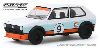 Volkswagen Golf Nº 9 Gulf  (1974) Greenlight 1/64