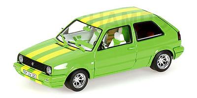 """Volkswagen Golf Serie 2 """"Street Racer Green"""" (1985) Minichamps 1/43"""