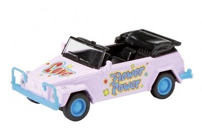 """Volkswagen Kubelwagen """"Flowers"""" (1960) Schuco 1/87"""
