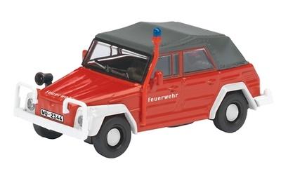 """Volkswagen Kuebelwagen """"Bomberos"""" (1950) Schuco 1/87"""