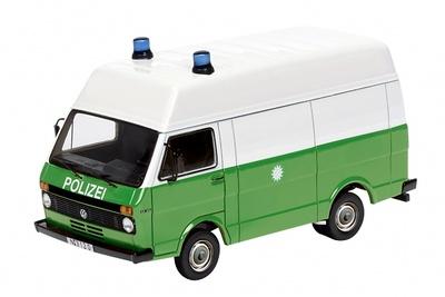 Volkswagen LT  techo alto de la Policia Alemana (1980) Schuco 1/87