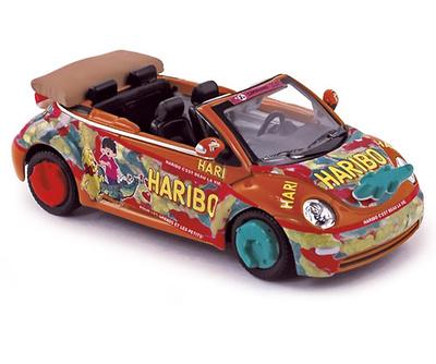 """Volkswagen New Beetle (2007) """"Haribo Naranja Croco"""" Norev 1/43"""