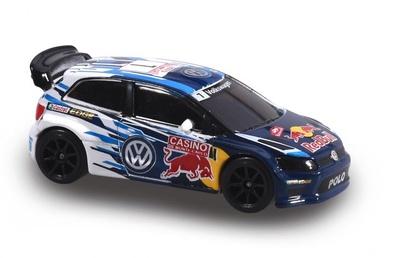 "Volkswagen Polo WRC ""Rallye Montecarlo"" nº 1 (2015) Majorette 1/57"