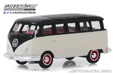 Volkswagen T1 21 ventanas Deluxe Samba Lote nº 1315 (1965) Greenlight 1/64