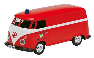 """Volkswagen T1 """"Bomberos Lindenholzhaufen"""" (1964) Schuco 1/87"""