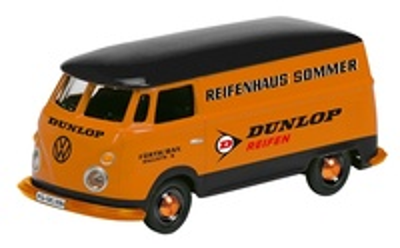 "Volkswagen T1 Furgoneta ""Dunlop"" (1950) Schuco 1/87"