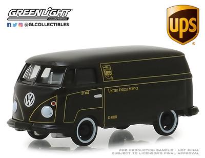 """Volkswagen T1 Furgoneta """"UPS"""" (1960) Greenlight 1/64"""