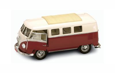 Volkswagen T1 Microbus Techo Cerrado (1962) Lucky Die Cast 1:18