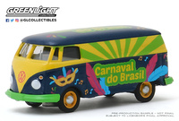 "Volkswagen T1 Panel Van ""Carnaval do Brasil 2020"" Greenlight 1/64"