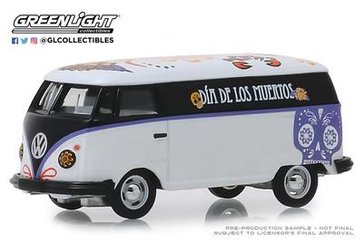 """Volkswagen T1 Panel Van """"Día de los muertos"""" (2019) Greenlight 1/64"""
