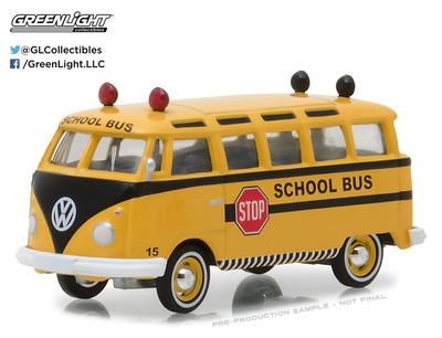 Volkswagen T1 Samba Bus (1964) Greenlight 1/64