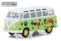 Volkswagen T1 Samba Bus (1964) Greenlight 1/64