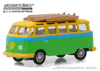 Volkswagen T1 Samba con tabla de Surf (1964) Greenlight 1/64