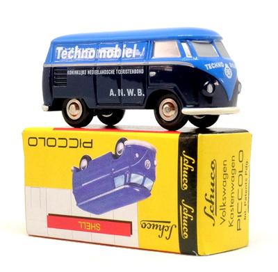 "Volkswagen T1 furgoneta ""Technomobiel"" Schuco 1/72"
