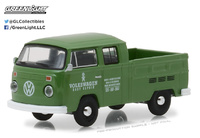 "Volkswagen T2 Doble Cabina Pick-Up ""VW Body Repairs"" (1975) Greenlight 1/64"
