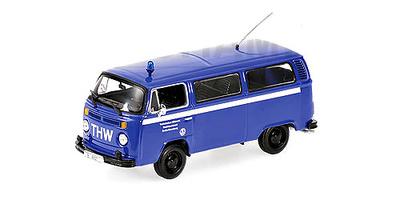 """Volkswagen T2 Minibus """"TWH"""" (1979) Minichamps 1/43"""