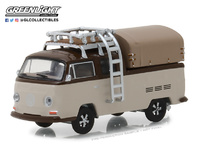 Volkswagen T2 Pickup Cabina Doble (1969) Greenlight 1/64