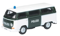 "Volkswagen T2a Bus ""Polizei"" (1972) Schuco 1/87"