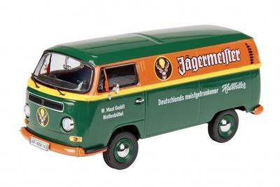 "Volkswagen T2a ""Jagermeister"" (1967) Schuco 1/87"