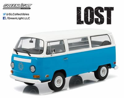 """Volkswagen T2b """"Lost -Dharma Van"""" (1971) Greenlight 1/18"""