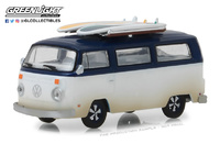 Volkswagen T2b con tablas de surf (1973)  Greenlight 1/64