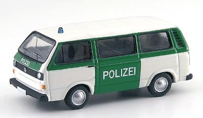 """Volkswagen T3 Bus """"Polizei"""" (1980) Bub 1/87"""